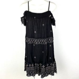Intimately Free People boho embroidered dress OTS